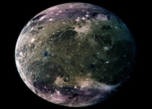 Ganymed je na mapě
