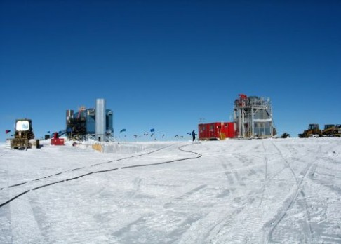 Antarktická observatoř hlásí objev!