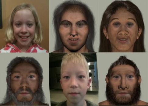 Proměňte se v MEandertálce!