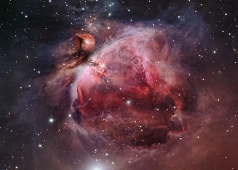 """Nová hvězdná """"miminka"""" v souhvězdí Oriona"""