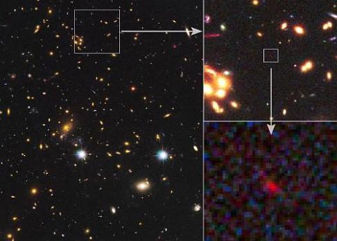 Galaxie z doby, kdy byl vesmír v plenkách