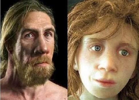 Byli neandertálci hnědoocí?