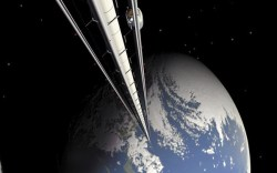 Budeme dopravovat materiál do vesmíru výtahem?