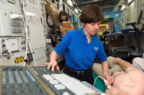 Jak léčit astronauta?