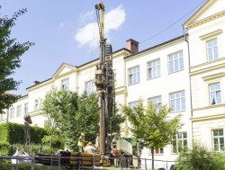 Na Masarykově univerzitě hloubí třicetimetrový výukový vrt