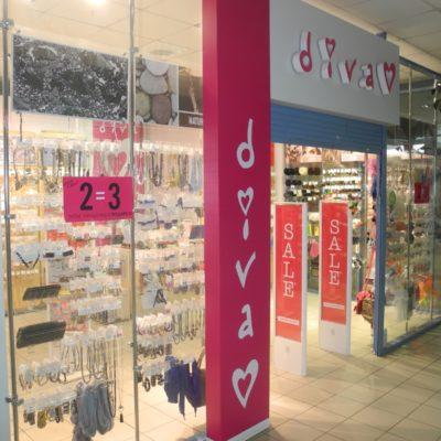 Отдел бижутерии Diva