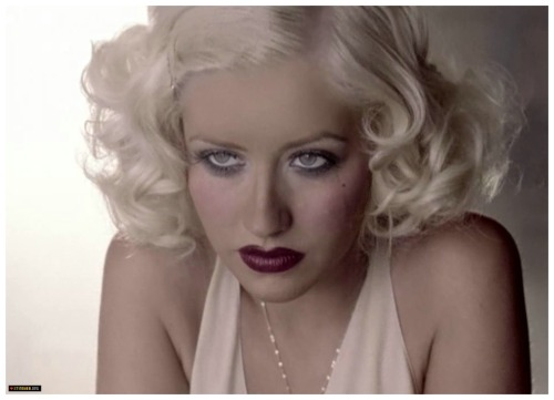 Through a glass darkly; Christina Aguilera, as captured by Floria Sigismondi in the music video for Hurt