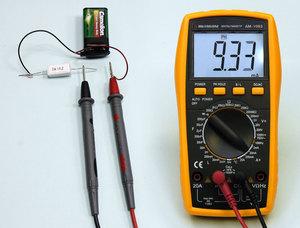 Проверка батареек