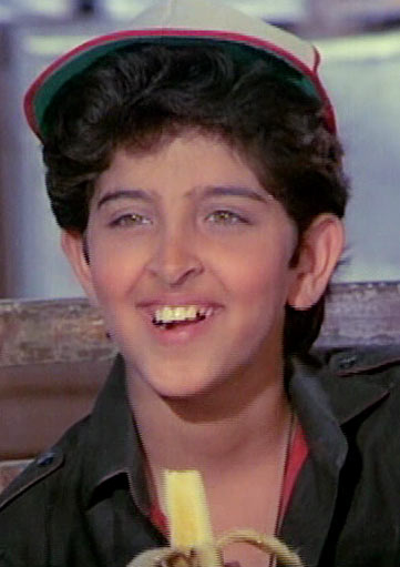 Hrithik Roshan's Childhood Picture