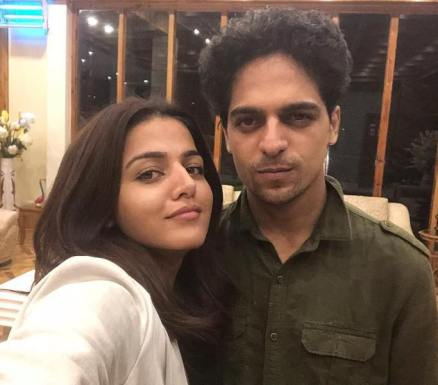 Wamika Kappi with her brother