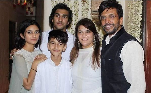 Meezaan with his family