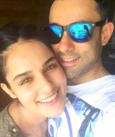 Angira Dhar with Her Brother