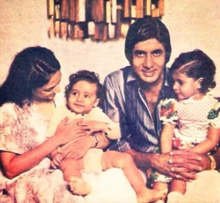 An Old Picture of Jaya with Her Family