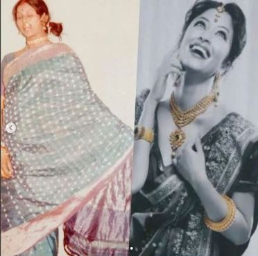 Payal Ghosh's mother