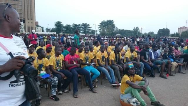 Des milliers d'activistes de la sous région ont été témoins de l'événement
