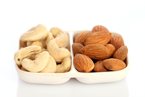 Image result for almonds and cashews