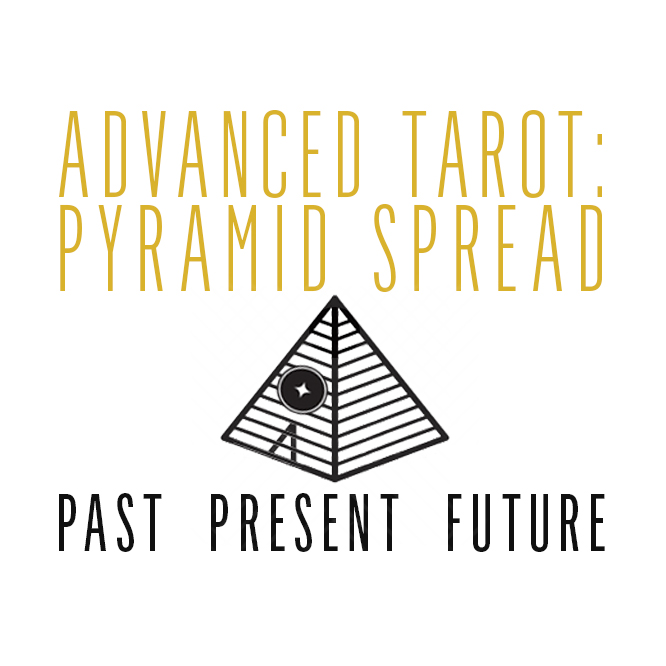 "September 13th Advanced Tarot – ""Pyramid Spread"""