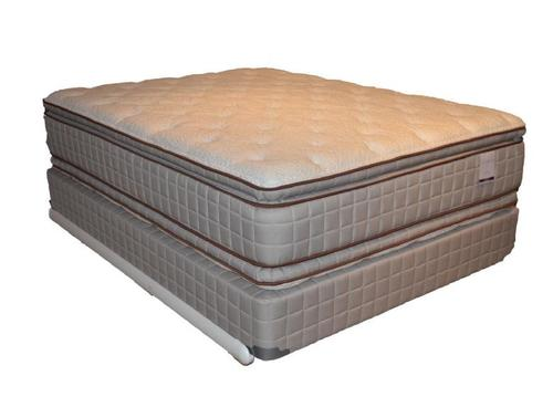 corsicana 280 two sided pillow top king 280 two sided pillow top mattress and box spring
