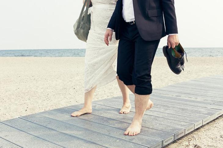 bryllup på amager strand