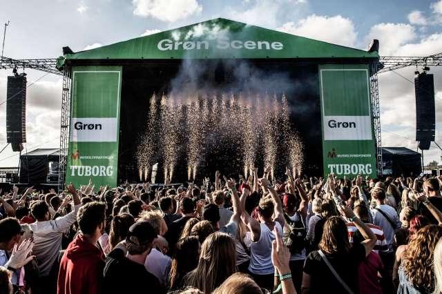 grøn koncert amager