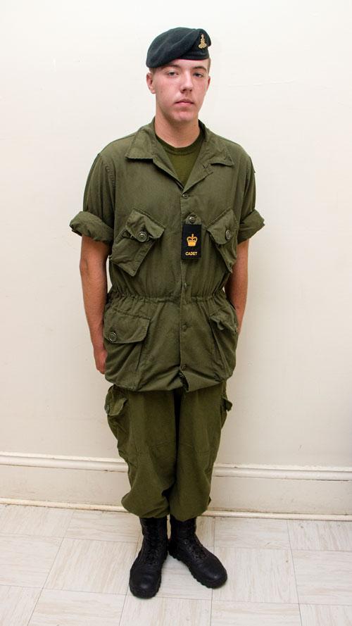army uniform standards