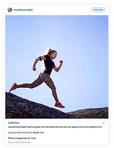 Instagram Brand Ambassadorship