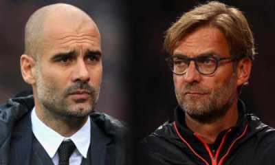 pep guardiola and jurgen klopp