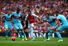 arsenal vs westham