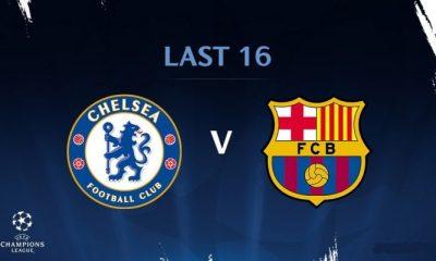 Barcelona Champions League clash Chelsea