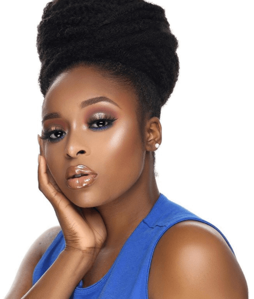How To Get A Slicked Back High Bun On A 4c Natural Hair Nigerian