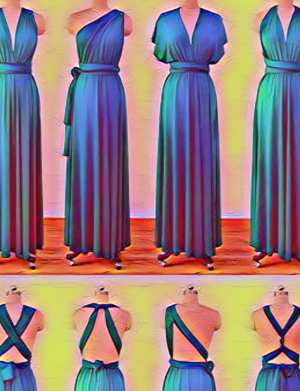 Moduri de prindere a rochiei