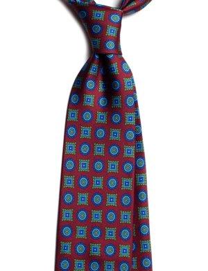 cravata matase vintage medallion c501 10209 4