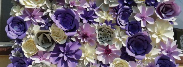 Flori de hârtie-decorațiuni evenimente