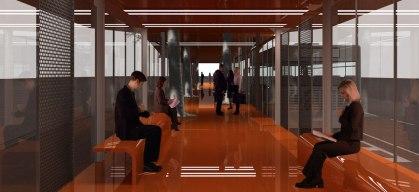 Interior estación