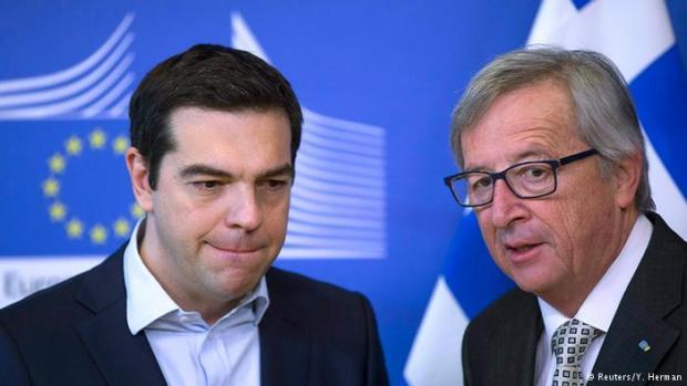 Alexis Tsipras dhe Jean-Claude