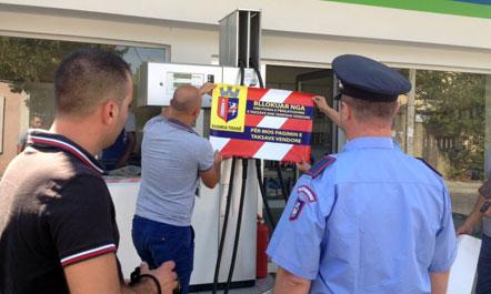 Vijon aksioni i Bashkisë së Tiranës për kontrollin e pikave të karburantit dhe gazit