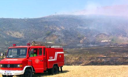 EC  8 vatra zjarri në të gjithë vendin