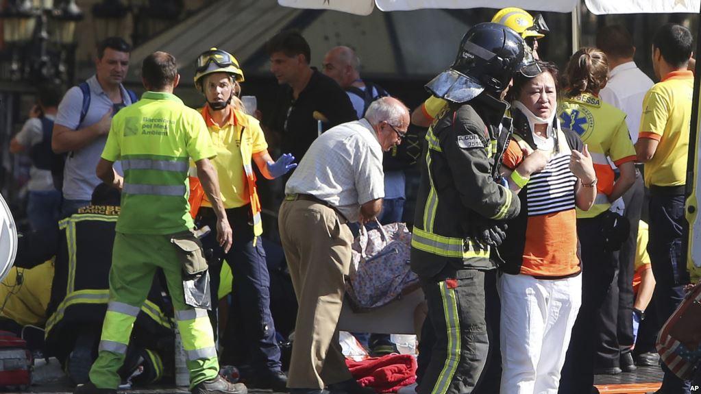 Sulmi në Barcelonë  13 të vdekur  ISIS merr përgjegjësinë