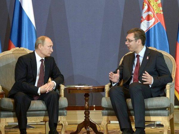 Vuçiç  Pa Rusinë nuk do të ketë asnjë zgjidhje me Kosovën