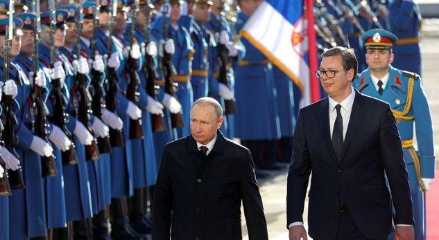 Putin në Serbi  Taksa dhe FSK mund të destabilizojnë Ballkanin