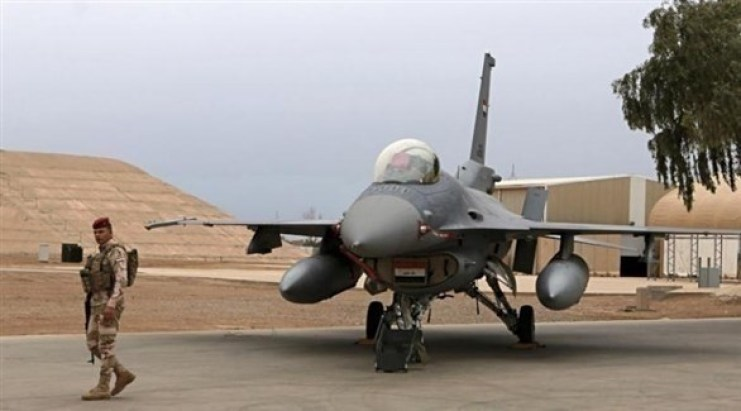 طائرات إف 16 العراقية توقف طلعاتها بعد انسحاب الخبراء الأمريكيين