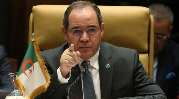 وزير الخارجية الجزائري صبري بوقدوم (أرشيف)