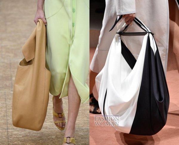 Темно-синий цвет, большие сумки. Что будет модно в 2020 ...