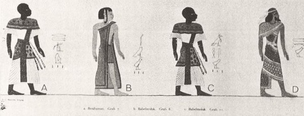 Ancient Depiction of Race