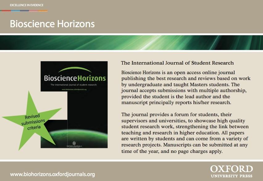Bioscience Horizons
