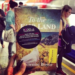 Lucienne Boyce's historival novel To The Fair Land on the Underground