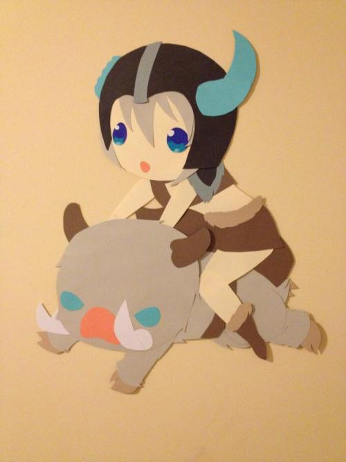 yep-that-tasted-purple:Sejuani Paper Doll by ~KirariRinkanWow, I just finished a ranked game as my favorite jungler. Lo and behold. This is what I come across the moment I check Tumblr. <3
