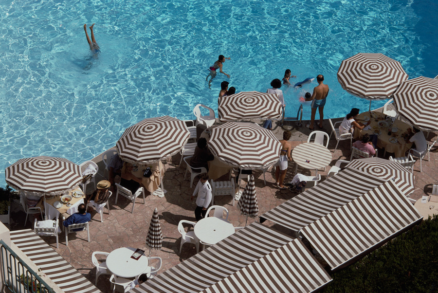 Deauville, Basse-Normandie, France. August 1st, 1988.Photograph by Jodi Cobb, National Geographic