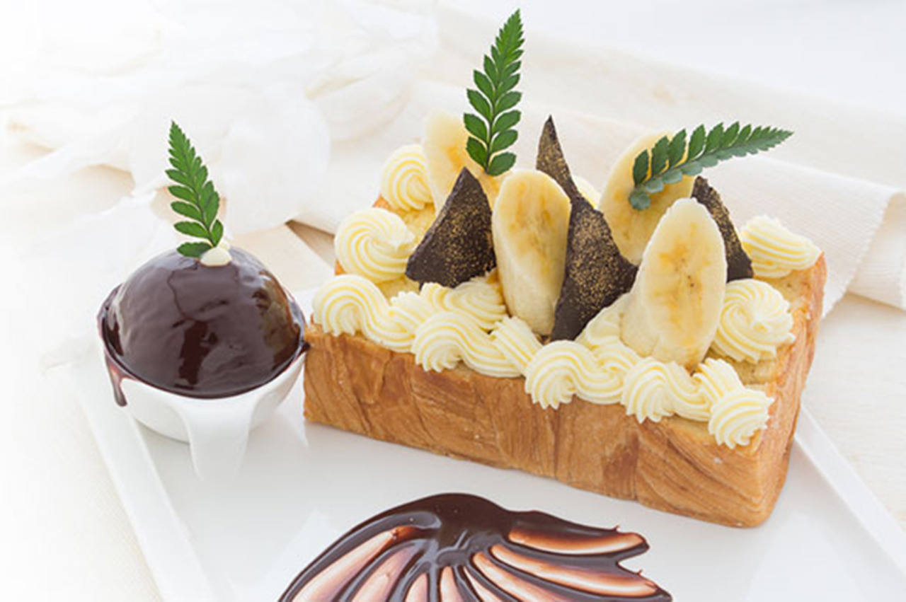 甜蜜香蕉朱古力 Banana Chocolate Toast