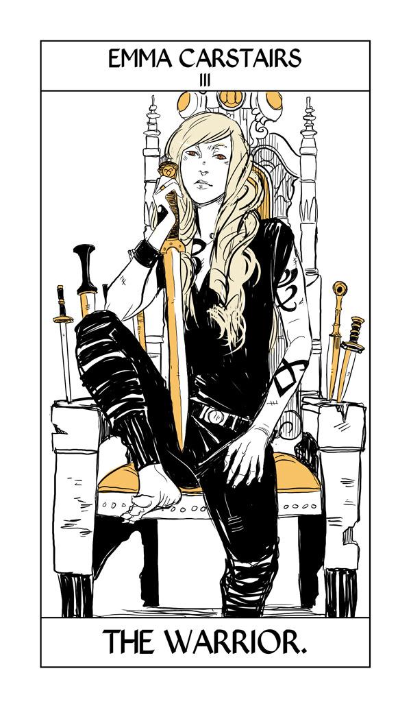 New Shadowhunter tarot cards by Cassandra Jean – TMI Source |Mortal Instruments Cards
